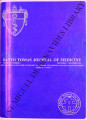 Santo Tomas Journal of Medicine (formerly 'The UST Journal of Medicine') ; Volume 35, number 3...