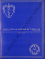 Santo Tomas Journal of Medicine (formerly 'The UST Journal of Medicine') ; Volume 39, number 1-2...